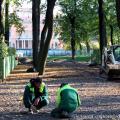 """Школа """"Зеленая стрела"""" третий год организует встречи с ландшафтными специалистами Русского Музея, чтобы изучать проект реставрации Летнего Сада, как масштабный пример современной парковой работы"""