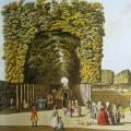 В XVIII веке посещение выдающихся садов было чрезвычайно модным занятием среди европейской знати