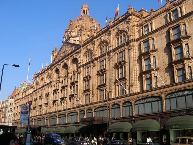 Харродс – самый известный универмаг Лондона