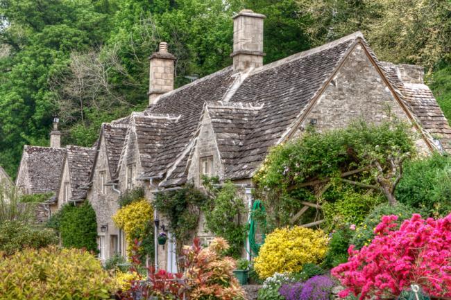 Бибери – самая красивая деревня Великобритании