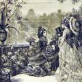 Летний прием в саду королевы Виктории