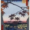 """Утагава Хиросигэ. Из серии """"Сто знаменитых видов Эдо"""". 19 в."""