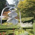 Сад космических размышлений в шотландском городе Дамфасе