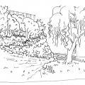 Сад на склоне